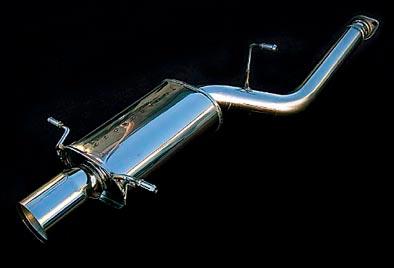 シムスレーシング リヤマフラー スバル インプレッサ WRX STI GDB E~G型用 (Y08104S007)【マフラー】Syms Racing Rear Muffler【通常ポイント10倍!】