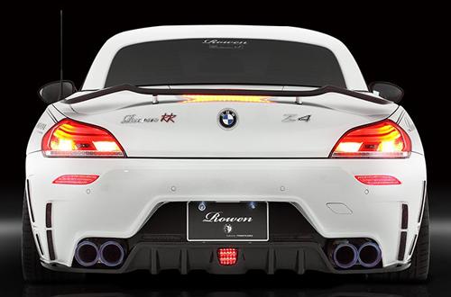ROWEN PREMIUM Edition リヤバンパー(カーボン+FRP) 素地 BMW Z4 E89 LM25/LM30/LM35用 (1B001P20)【エアロ】ロェン プレミアムエディション【車法人のみ送料無料】【通常ポイント10倍!】
