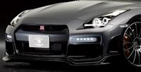 ROWEN Silver Wolf Edition フロントリップスポイラー(カーボン) 素地 日産 ニッサン GT-R R35用 (1N001A00)【エアロ】ロェン シルバーウルフエディション【通常ポイント10倍!】
