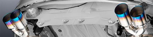 ROWEN PREMIUM01S トヨタ FJクルーザー ノーマルバンパー車 GSJ15W用 チタンテール(1T004Z00-01T)【マフラー】【自動車パーツ】ロェン プレミアム01S【車法人のみ送料無料】