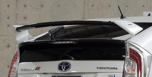 ROWEN CROSS BLAZE リヤウィング STANDARD MODEL(FRP) 塗装済み トヨタ プリウス 後期 ZVW30用 (1T001R20#)【エアロ】ロェン クロスブレイズ【通常ポイント10倍!】