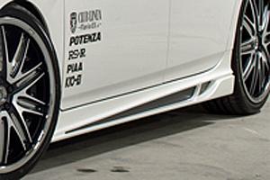 ROWEN ECO-SPO Edition RR サイドステップ バージョン2(FRP) 素地 トヨタ プリウス M/C後 ZVW30用 (1T008J00)【エアロ】ロェン エコスポエディション【通常ポイント10倍!】