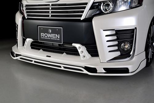 ROWEN PREMIUM Edition フロントスポイラー(FRP) 塗装済み トヨタ ヴォクシー ZS ZRR80W用 (1T013A00#)【エアロ】ロェン プレミアムエディション【通常ポイント10倍!】
