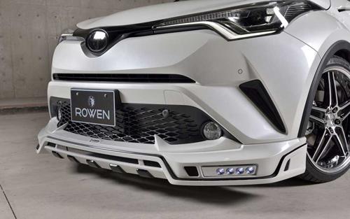 ROWEN SV PREMIUM Edition フロントスポイラー(FRP) 単色塗装済み トヨタ C-HR NGX50/ZYX10用 (1T026A00#)【エアロ】ロェン エスブイプレミアムエディション【通常ポイント10倍!】