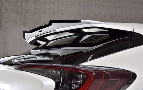 ROWEN SV PREMIUM Edition ルーフスポイラー(FRP) 単色塗装済み トヨタ C-HR NGX50/ZYX10用 (1T026R00#)【エアロ】ロェン エスブイプレミアムエディション【通常ポイント10倍!】