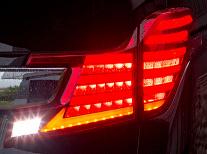 【クーポン利用で最大1200円OFF】TOM'S LED TAIL LAMP トヨタ ヴェルファイア MC前 AGH30/AGH35/GGH30/GGH35用 (81500-TGH30)【電装品】トムス LED テールランプ