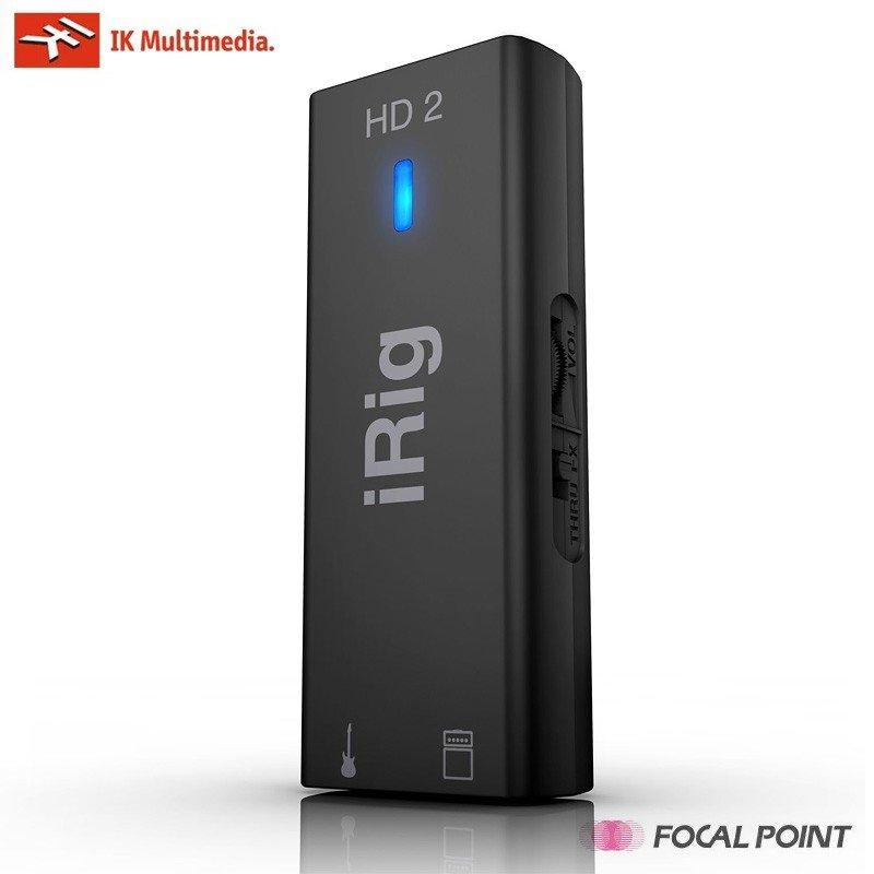 【IK Multimedia / アイケーマルチメディア】IK Multimedia iRig HD 2アイリグHD2ギター ベース用モバイル デジタル オーディオ インターフェース