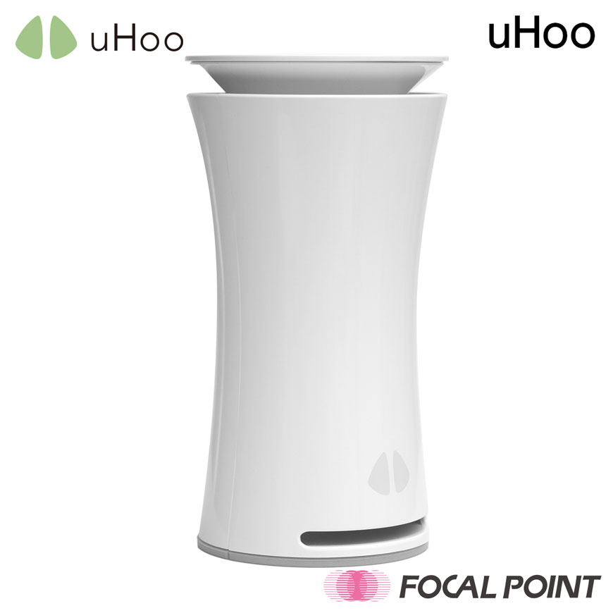 uHoo / ユーフーuHoo / ユーフー スマート空気デバイス世界初9個のセンサー / 空気 空気品質 分析 室内 アレルギー PM2.5 スマート家電 IFTTT