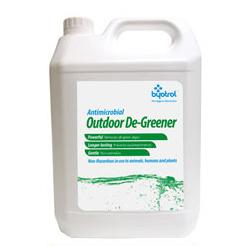 【byotrol  アウトドア ディグリーナー 屋外専用5L 】屋外のコケ類・藻類・ カビ類を安全かつ簡単に除去、防止します 温泉施設・病院・老健施設 業務用