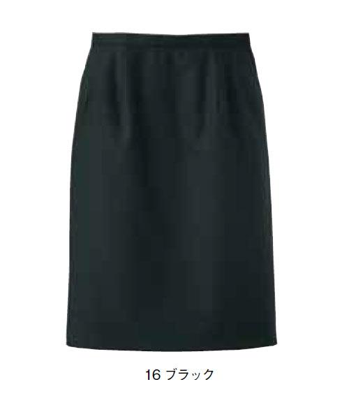 レディスストレッチスカート(ストライプ)【サイズ:5号~17号】毛50% ポリエステル50%