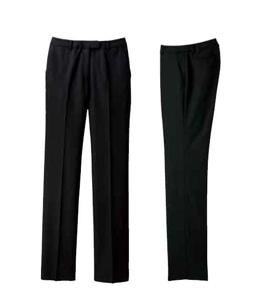レディスストレッチパンツ(Stripe)【サイズ:5号~17号】毛50% ポリエステル50%
