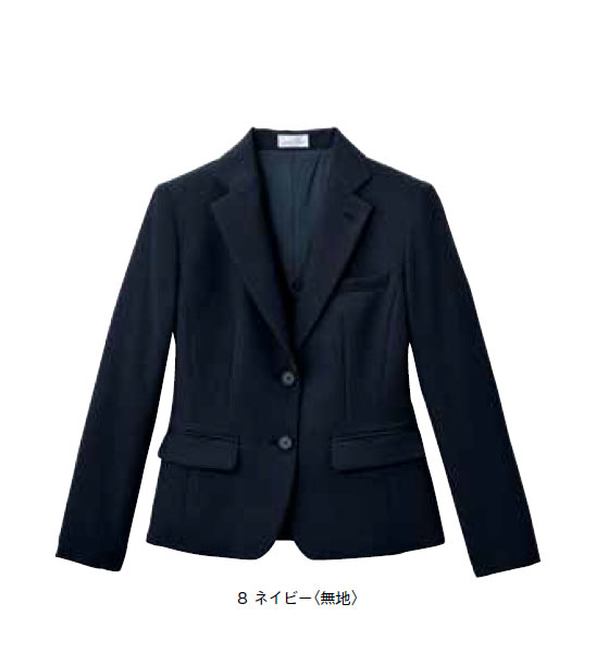 レディステーラードージャケット【サイズ:5号~17号】ポリエステル 100%