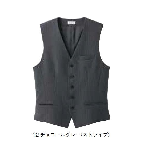 メンズベスト【サイズ:S~4L】ポリエステル 98% レイヨン 2%