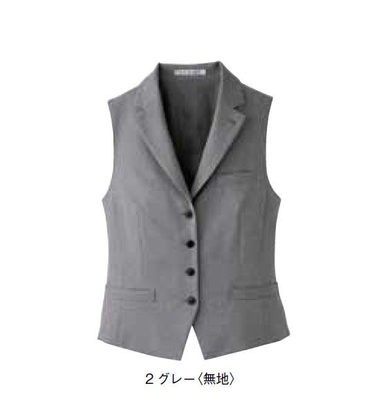 BONMAX レディス衿付きベスト【サイズ:5号~17号】ポリエステル100%
