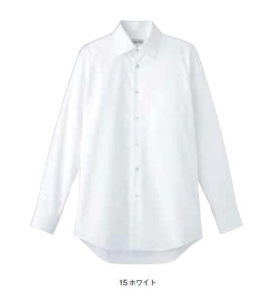 BONMAX メンズストレッチ長袖シャツ【S~4L】/ブロード/フォーマル/ストレッチ/形状安定