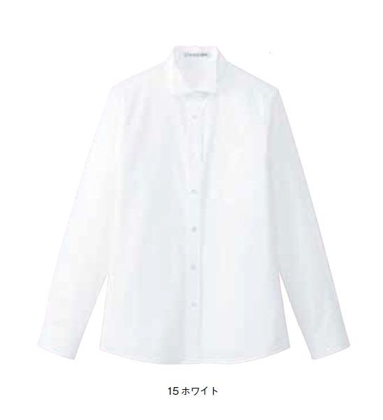 BONMAX レディスウイングカラー長袖ブラウス【5号~17号】/ブロード/フォーマル/