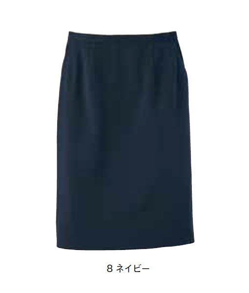 レディスストレッチスカート 【サイズ:5号~17号】ポリエステル97%、キュプラ3%