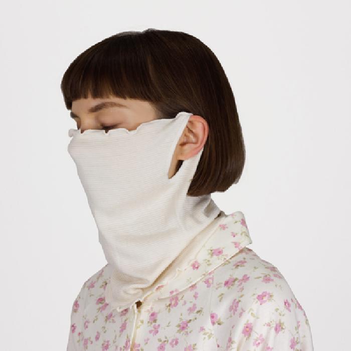おやすみ中にシルクでしっとる潤う あす楽 シルク フェイスマスク 日本製 カバー神戸生絲 コベス 耳かけしっとり 絹 うるおう 大好評です 豪華な 睡眠 就寝 耳掛け 乾燥