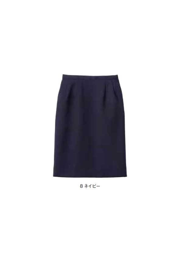 レディスストレッチスカート 【サイズ:5号~17号】ポリエステル100%