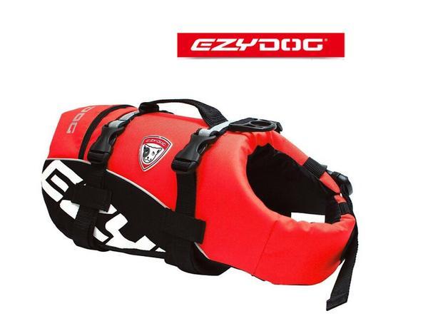 EzyDog DFDスタンダード フローティングジャケット(ライフジャケット) XSサイズ 愛犬と水遊びをしよう!