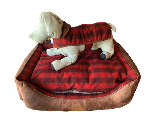 PENDLETON(ペンドルトン)ドッグベッド XLサイズ(RED OMBRE) おしゃれで洗える 送料無料