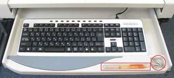 要点到被过后附上的键盘托盘/扣子式键盘托盘/KEYBTRAY/9日期2点5倍