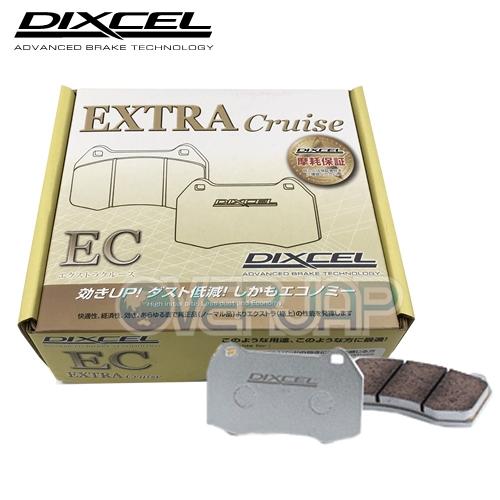 【当社はグリース付き・送料無料!!】 EC361055 / 365089 DIXCEL EC ブレーキパッド 1台分セット トヨタ 86 ZN6 2000 2012/4~ RC/G Rear Solid DISC