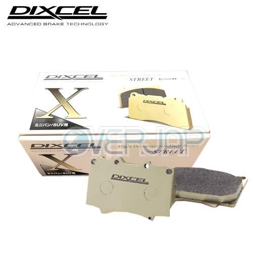 Xタイプ LANCIA THEMA A834E 1988/10〜1992 1台分セット 2.8 V6 X2610644 /1350451 DIXCEL ブレーキパッド