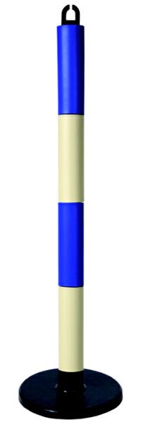 やわらかゴムポール80cm(高さ880mm)6個組[ブルー/ホワイト]