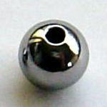 宝飾用研磨済み高純度・単結晶ゲルマニウムビーズ(直径8mm品×1個)