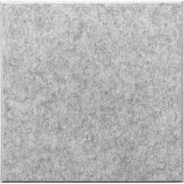 [代金引換不可]吸音パネル45C(4040)マグネット付(45度カットタイプ)[ブランド名:硬質吸音フェルトボードFelmenon][サイズ:400mm×400×10.5mm][カラー:グレー][裏面マグネット付][数量:1カートン(30枚)]