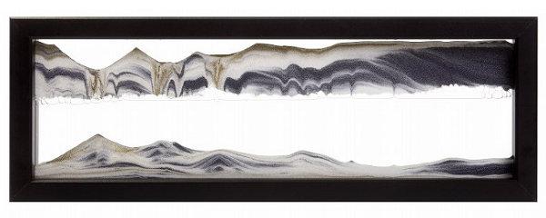 激安格安割引情報満載 送料無料 離島 遠隔地を除く ☆砂が描き出す神秘の芸術 サンドピクチャー ブラック 日本正規品 TX