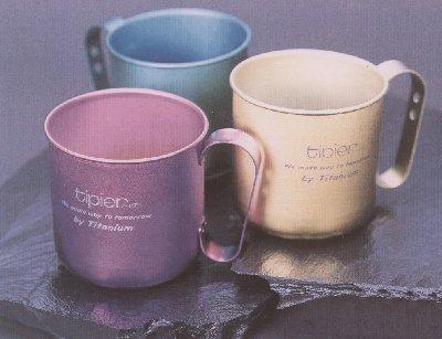 チタン抗菌マグカップ(取り合わせ5個)