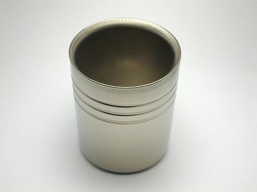 チタン抗菌二重マグカップ(取り合せ3個)