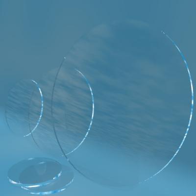 【あす楽対応】 石英ガラス円板[直径125×3mm][材質:合成石英][表面仕上げ:研磨仕上げ]:オーバースペック屋-DIY・工具