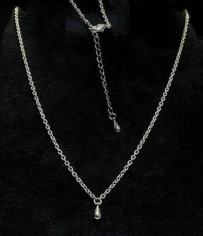 オールチタン製ネックレスコリラック・チタン(ノーマルタイプ)CT-N003/ツユ玉