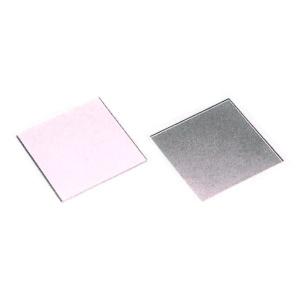 ハーフミラー[寸法:100×100×厚み2.0mm][コーティング:誘電体多層膜][材質:クラウン]