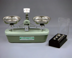 ☆計量業務 理科実験などに 上皿天びん MS-100 ひょう量100g 驚きの価格が実現 感量100mg 普通型上皿てんびんMS型 40%OFFの激安セール