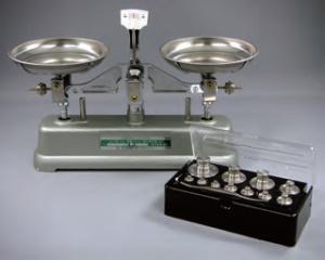 上皿天びん【MS-500】(ひょう量500g、感量500mg)[普通型上皿てんびんMS型]