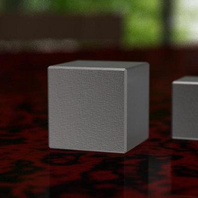 [注意:代金引換不可]高比重金属の立方体[素材:ヘビーウェイトHV18][サイズ:20×20×20mm][重量:約144g]