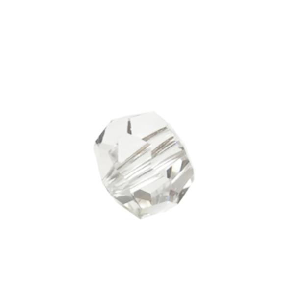 ASFOUR CRYSTAL1502 ビーズ 10mm(クリア)[商品種別:クリスタルパーツ][サイズ:(約)縦9×横10mm][カラー:CRYSTAL(透明)][数量:1箱(1350個入り)]