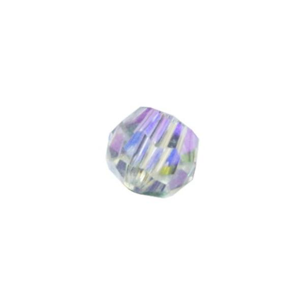 ASFOUR CRYSTAL1502 ビーズ 8mm(オーロラ)[商品種別:クリスタルパーツ][サイズ:(約)縦7×横8mm][カラー:オーロラ(AB加工)][数量:1箱(1936個入り)]