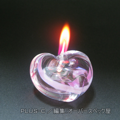 PLUS-C Color Candle Collectionオイルキャンドル『スピカ』「ガラス容器1個」+「オイル1本」+「替芯1本」セット