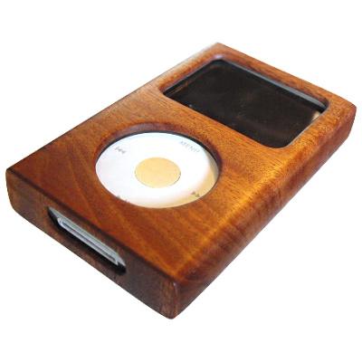 iPod木製ケースiPod classic60GB 5.0th 用