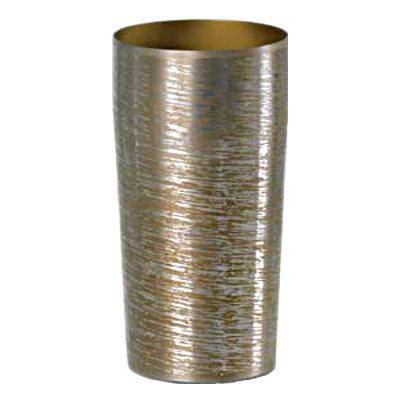 ☆純チタン製の上質なタンブラー 『1年保証』 チタン2重タンブラー PREMIUM チタン白樺 流行 ブラウン 大 しらかば