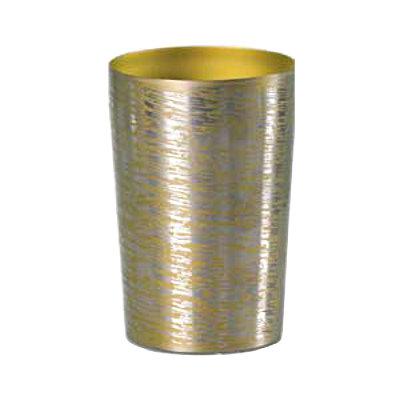チタン2重タンブラー[PREMIUM]『チタン白樺(しらかば)』[小/ゴールド]