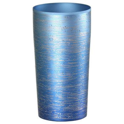 ☆純チタン製の上質なタンブラー チタン2重タンブラー 涼 りょう バースデー 記念日 値引き ギフト 贈物 お勧め 通販 T08-RY-BLU 大 ブルー