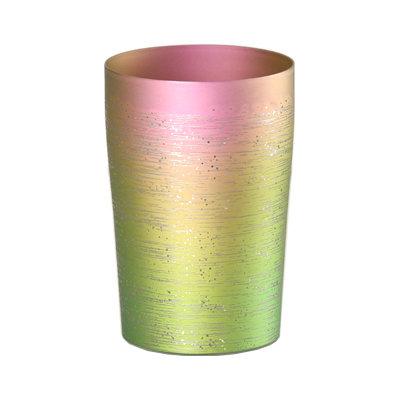 大人気 ☆純チタン製の上質なタンブラー チタン2重タンブラー 涼 りょう 小 大人気 T09-RY-GP グラデーションピンク