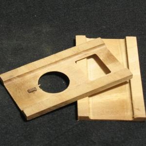 ☆世界にひとつだけ デザイナーはあなた マホガニーで作る自作キット iPod nano 対応木製ケース組立キット 2nd wooden KIT 買い取り 豪華な