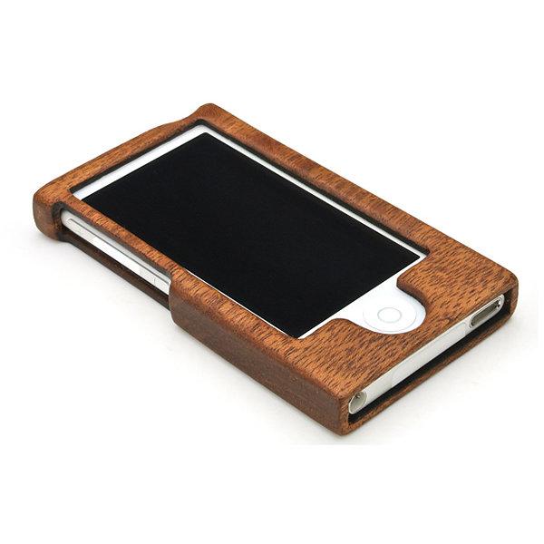iPod木製ケースiPod nano 7th 用[フルカバータイプ]【For iPod nano 7th(フルカバー)】